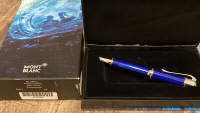 MONTBLANC: JULES VERNE WRITERS SERIES LIMITED EDITION FOUNTAIN PEN - MEDIUM