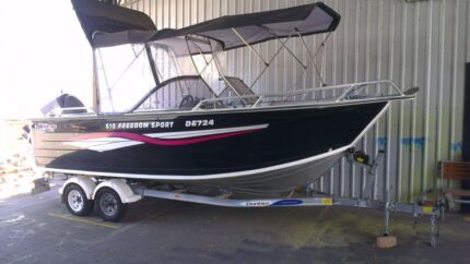 Quintrex 610 Freedom Sport - Priced to sell
