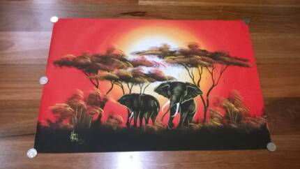 Brilliant original hand-painted African animal picture on canvas Woodvale Joondalup Area Preview