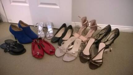 Bulk Lot of 9 Pairs of Size 7-8 Shoes Corlette Port Stephens Area Preview