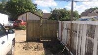 Fencing, decking , and yard care