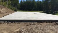 Commercial & residential concrete work. FREE onsite quotes