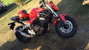 2017 Honda CB 500