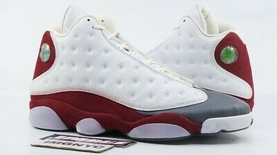 AIR JORDAN XIII 13 RETRO NEW SIZE 11 GREY TOE WHITE RED FLINT GREY 310004 (Air Jordan 13 White Red Flint Grey)