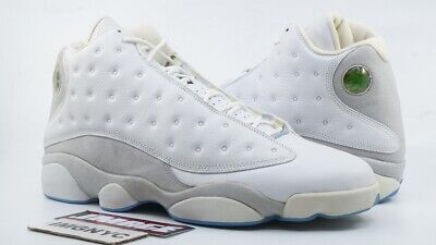 Air Jordan XIII 13 Retro Neu Sz 13 White Neutral Grau University Blau 310004 103 ()