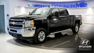 CHEVROLET SILVERADO 2011 2500HD LT + CREWCAB + LED BAR + VORTEC