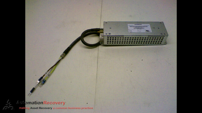 SIEMENS 6SE6400-4BD11-0AA0 BRAKING RESISTOR - MM4 2KW 900V IP20, NEW #174372