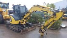 Komatsu PC55 Compact Excavator Smeaton Grange Camden Area Preview