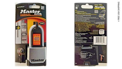 Master Lock 2 In. W Die-Cast Zinc Ball Bearing Locking Padlock 1 Pk M176XDLHHC