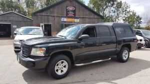2011 Dodge Dakota SXT, 4x4, LOW KMS, Quad Cab, V6