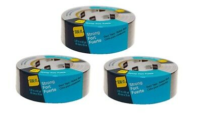 Seal-it 1.88 Inches X 60 Yards Duct Tapegeneral Purpose Grey 3 Rolls