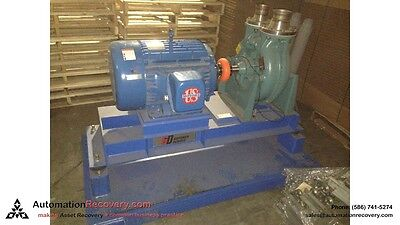 EMERSON H40V1BS WITH ATTACHED PART NUMBER RECGAAA MOTOR 3 PHASE 40HP #142300