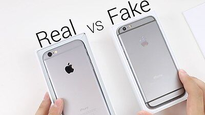 A real iPhone 6 (left) versus a fake one (taken from DarGadgetZ)