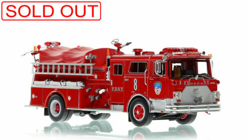 FDNY 1983 MACK® CF HP Pumper Manhattan E-8 1/50 Fire Replicas FR099-8 Sold Out