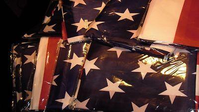 WHOLESALE LOT OF 12 USA U.S.A. US U.S. 3' x 5' FLAGS UNITED STATES AMERICA poly
