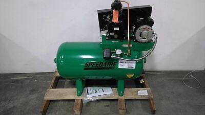 Speedaire 5z696 0.75 Hp 120vac 240vac 30 Gallon Stationary Air Compressor