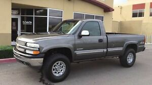 Looking for a regular cab long box chev/gmc