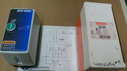 (NEW)  LOVATO M1PA V234 / BF1210A CONTACTOR / N4 / N.O. AUX.