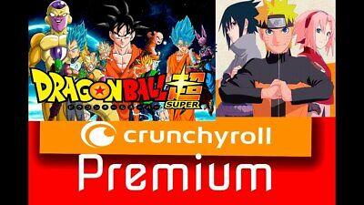Premium Crunchyroll Mega Fan 12 Meses