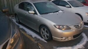 2006 MAZDA 3 - POWER SLIDER ROOF - CERTIFIED