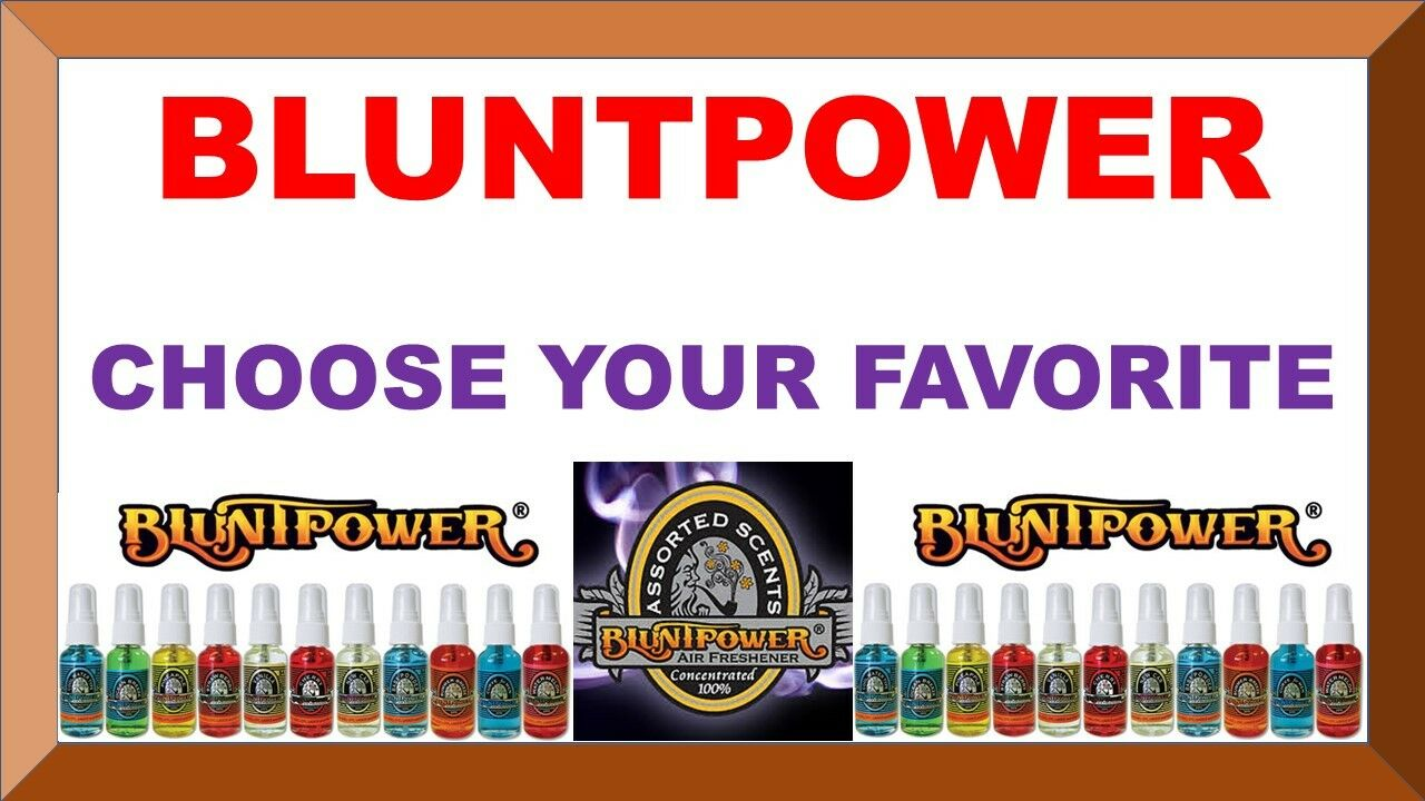 BLUNTPOWER 1.5 oz Concentrated Air Fresheners Blunt Power