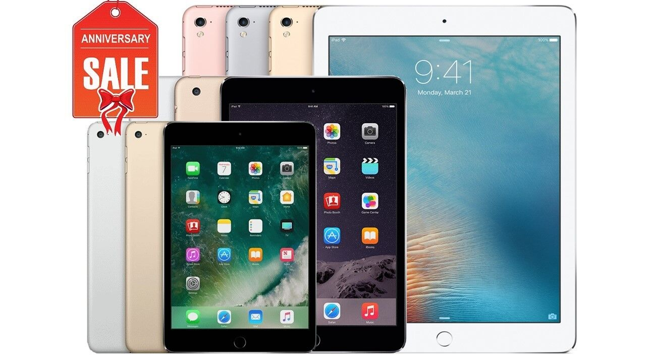 Купить Apple - Apple iPad 1/2/3/4 Mini Air WiFi Tablet | 16GB 32GB 64GB 128GB I GREAT (R-D)
