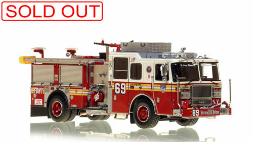 FDNY Seagrave Engine 69 Manhattan 1/50 Fire Replicas FR046-69 New Sold Out