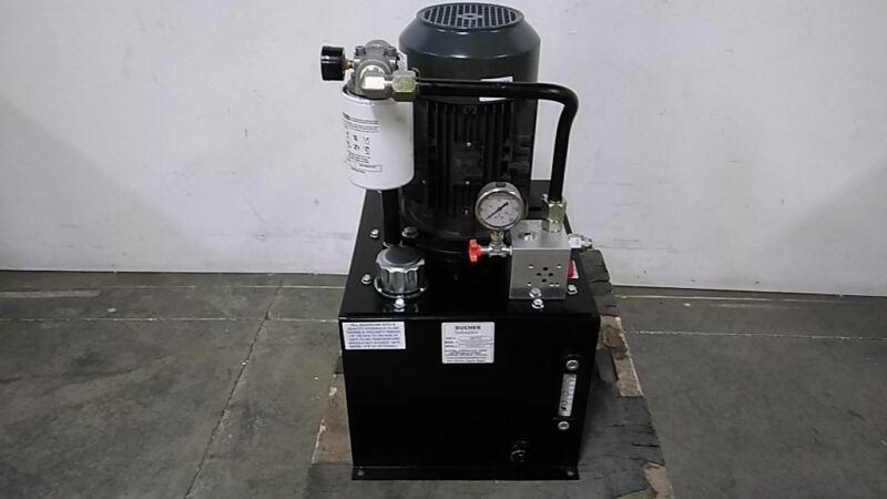 Monarch T1VA355C02F1-01 3 HP 1800 RPM 208-230/460VAC Hydraulic Power Unit