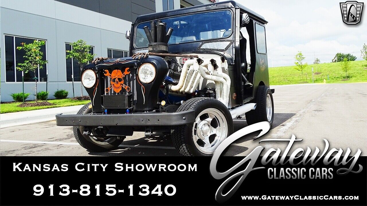Black 1976 AM General DJ Truck Ford 351-W Automatic Available Now!