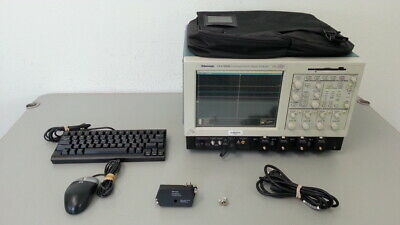 Tektronix Csa7404b Communications Signal Analyzer 4 Ghz 4 Ch. 20 Gss