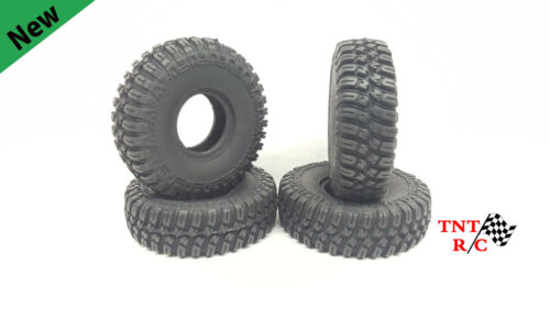 All 4pcs 1/18th scale r/c rock crawler T-Finder tires With Free Ship!!