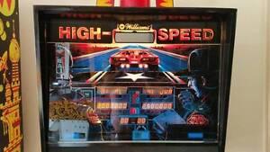 HIGH SPEED - PINBALL MACHINE - MAJOR RESTORATION Mackenzie Brisbane South East Preview