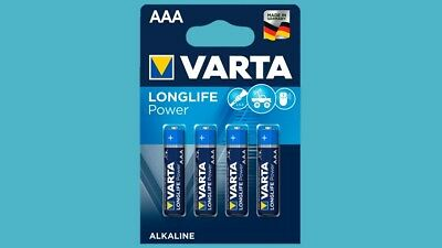 4 x Batterien Varta Longlife Power ( HighEnergy ) AAA Micro LR3 10 Jahre NEU