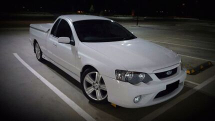 2006 FORD BF XR8 UTE - 6sp manual - Leather - Hard lid with bulge Craigieburn Hume Area Preview