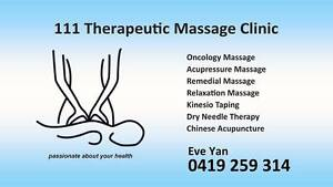 111 Therapeutic Massage Clinic Ngunnawal Gungahlin Area Preview