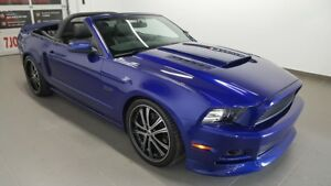 2013 Ford Mustang GT convertible, cuir, bluetooth NO DAMAGE REPO