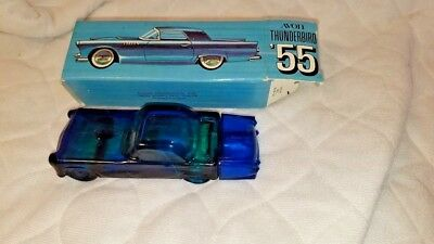 """Avon Aftershave Vintage Thunderbird """"55"""" with Original Box and after shave"""