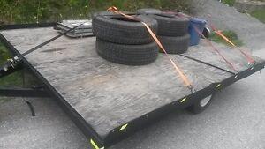 2 place snowmobile/atv/utility trailer