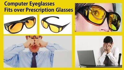 Polarised UV Filtration Anti Glare Glasses for Prolonged Use of TV or (Polarized Glasses For Computer Use)