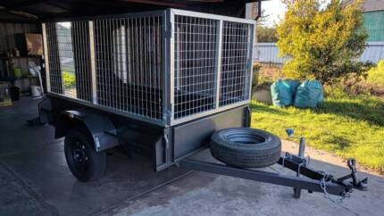 cheap trailer high caged rent hire Ottoway Port Adelaide Area Preview