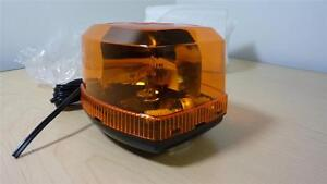 Federal Signal FIREBEAM FB3 Magnetic Rotating Beacon Light FB-3 Amber / Yellow