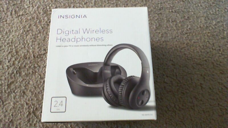 Insignia Over-the-Ear Wireless Over-the-Ear Headphone Black NS-WHP314