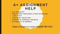 Assured Grades else full refund for all Assignments help
