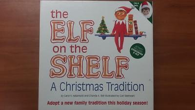 the Elf on the Shelf a Christmas Tradition Set Hardback Book & Elf Doll BOY NEW