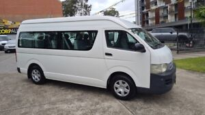 2007 Toyota HiAce KDH223R MY07 Commuter White 4 Speed Automatic Bus Homebush Strathfield Area Preview