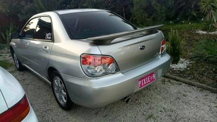 2006 Subaru Impreza luxury model