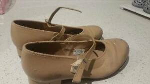 Childrens Tan Tap Shoes SIZE 6 Cronulla Sutherland Area Preview