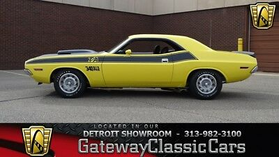 1970 Dodge Challenger T/A: 1970 Dodge Challenger T/A 0 Top Banana Coupe 340 CID V8 Six Pack 4 Speed Manual
