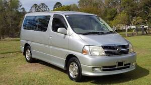 2001 Toyota Granvia / Grand Hiace 3.4ltr Auto Luxury People Mover Brisbane City Brisbane North West Preview