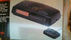 CENTURION DUAL  AM/FM ALARM CLOCK RADIO WITH 8 FOOT LONG SNOOZE CONTROL